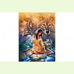 Племя и волк