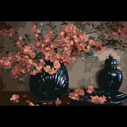 Натюрморт - цветы в вазе
