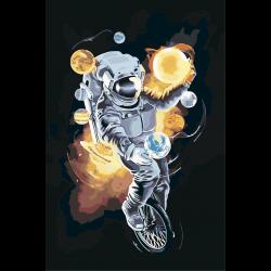 Космонавт - жонглер