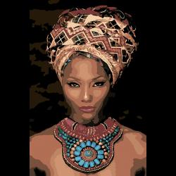 Африканская красавица