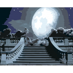 Луна в облаках