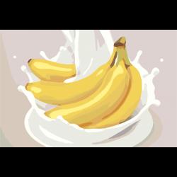 Бананы со сливками