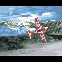 Полёт в горах