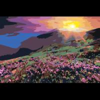 На склоне горы