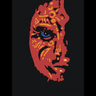 Красная маска