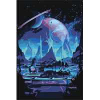 Город у Сатурна