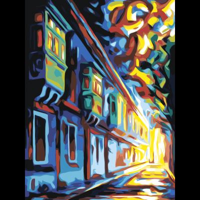 Улица. Абстракция