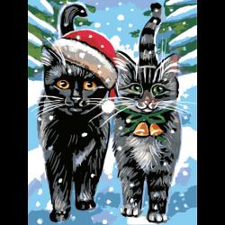 Праздничные коты