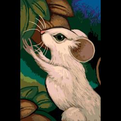 Картина по номерам - Мышонок