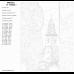 Картина по номерам - Башня