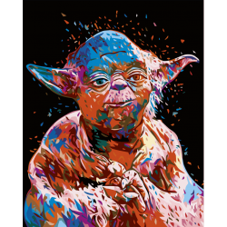 Картина по номерам, Мастер Йода