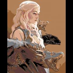 Картина по номерам - Матерь драконов
