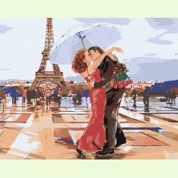 Поцелуй в Париже