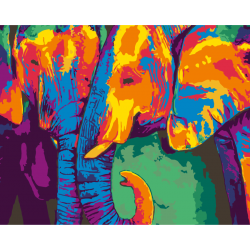 Радужные слоны