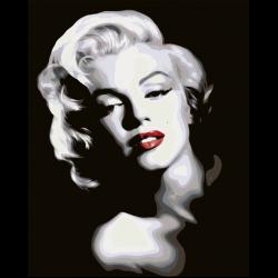 Картина по номерам - Мерилин Монро
