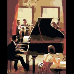 Картина по номерам - Концерт в ресторане