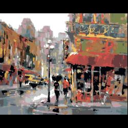 Картина по номерам - Городская суета