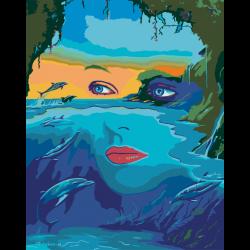 Картина по номерам - Лицо природы