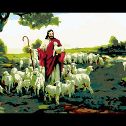 Картина по номерам, Пастух