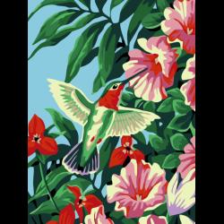 Картина по номерам - Калибри в цветах