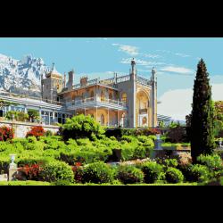 Картина по номерам - Дворец