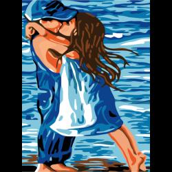Картина по номерам - Детская любовь