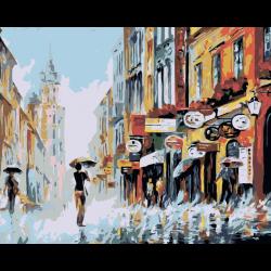 Картина по номерам - Летний дождь
