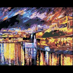 Картина по номерам, Прибрежный город
