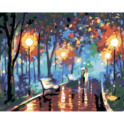 В ночном парке