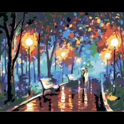 Картина по номерам - В ночном парке