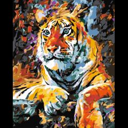 Тигр отдыхает