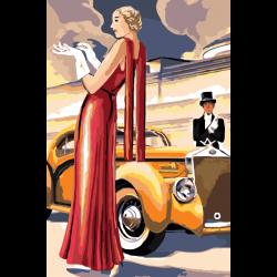 Дама и авто