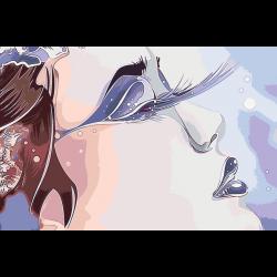Картина по номерам - Зимняя нежность