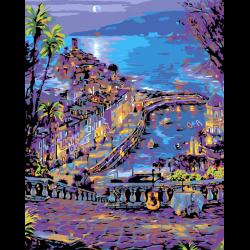 Картина по номерам, Экзотический курорт