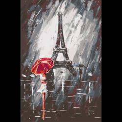 Картина по номерам - Дождливый Париж