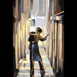 Танец в переулке