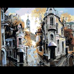 Картина по номерам, Трамвайные пути