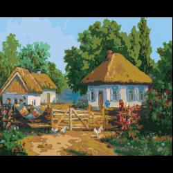 Картина по номерам, Ферма