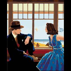Картина по номерам - Кафе на пляже