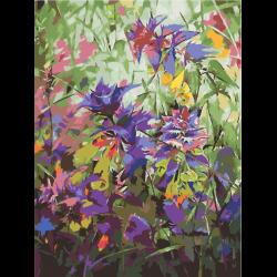 Картина по номерам - Полевые цветы