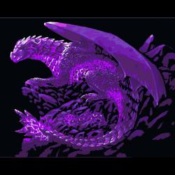 Картина по номерам - Дракон